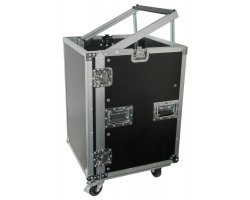"Power Dynamics F16U8 19"" Rackcase with Wheels"