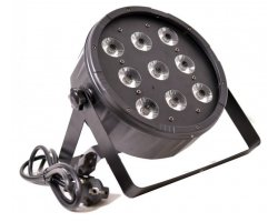 LIGHT4ME LED PAR 9x10 RGBW IR