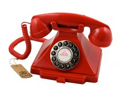 GPO Carrington Phone Red