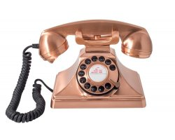 GPO 200 Rotary Phone Copper