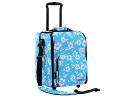 Zomo DJ-Trolley Flower Blue/Black