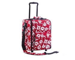 Zomo DJ-Trolley Flower Red/Black