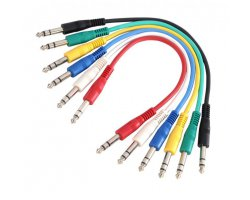 Adam Hall Kabel 6ks 2x Jack 6,3 3 0,9m