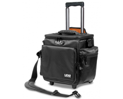 UDG Ultimate SlingBag Trolley DeLuxe Black, Orange Inside