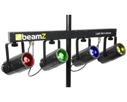 BeamZ LED Four DMX, 4x 57 RGBW LED diod
