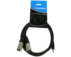 Accu Cable AC-J3S-2XM/3