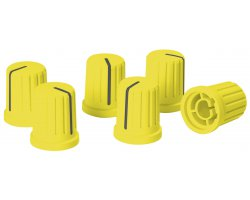 Reloop Knob Cap Set Yellow