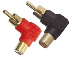 Accu Cable AC-A-RMF-90 RCA 90° Adapter Set