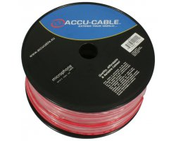 Accu Cable AC-MC/100R-R Microcable roll, 100m, red
