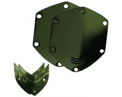 V-Moda Over ear shield kit - Matte Green