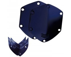 V-Moda Over ear shield kit - Matte Blue