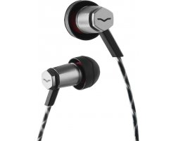 V-Moda Forza Metallo In-Ear Headphones (Black / IOS)