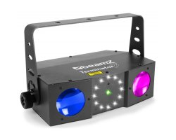 Beamz LED Terminator IV 2xmoon, Strobe