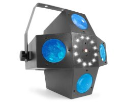 BeamZ LED Multitrix, 20x1W RGBWA + 12xSMD LED + 225mW RG laser, sv