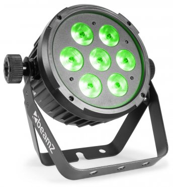 BeamZ BT270 LED Flat Par 7x6W 4-in-1 RGBW