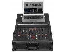 UDG Ultimate Flight Case Pioneer DJM-2000/NXS Black MK2 Plus
