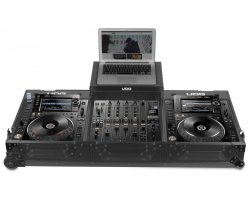 UDG Ultimate Flight Case CDJ 2000/900 Nexus II Black MK2 Plus