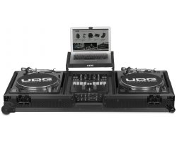 "UDG Ultimate Flight Case Set Multi Format Turntable Battle & 10""/12"" Mixer Black Plus"