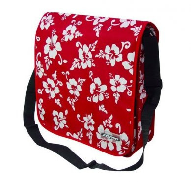 Zomo Recordbag Street-1 Flower Ltd. Red