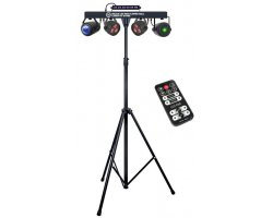 LIGHT4ME BELKA LED PAR Flower Ball Laser UV Strobe