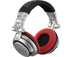 Zomo Earpad Set VELOUR for Sony MDR-V700 DJ and Allen & Heath XD53/ XD2-53 Red