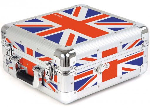 Zomo CD Case CD-50 XT UK Flag