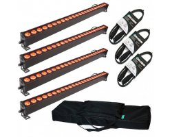 LIGHT4ME Pixel BAR 24x3W MKIII LED Strip SET2