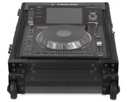 UDG Ultimate Flight Case Multi CDJ/MIXER II Black Plus (Trolley&Wheels)