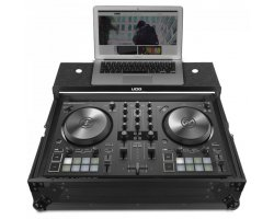 UDG Ultimate Flight Case NI Kontrol S2 MK3 Black Plus (Laptop shelf)