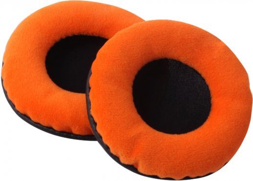 Zomo HD-1200 Earpad Set VELOUR L Orange