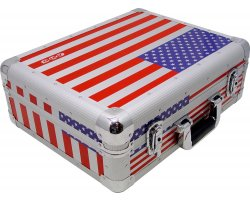 Zomo CD-Case CD-MK3 XT USA-Flag
