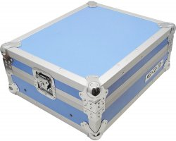 "Zomo Flightcase M-19 1x 19"" Mixer Blue"