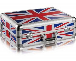 Zomo MFC-S4 Flightcase Native Instruments S4 MKII UK Flag