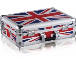 Zomo MFC-6000 Flightcase Denon DN-MC6000 MKII UK-Flag