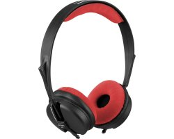 Zomo Earpad set VELOUR for Sennheiser HD-25 SP Red