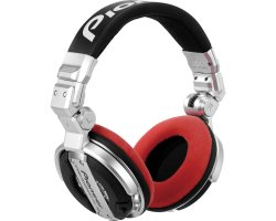Zomo Earpad Set VELOUR for Pioneer HDJ-1000 Red