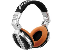Zomo Earpad Set VELOUR for Pioneer HDJ-1000 Tangerine