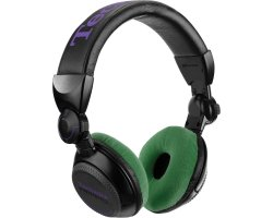 Zomo Earpad Set VELOUR for Technics RP-DJ1200/1210 Cactus
