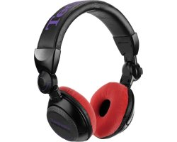 Zomo Earpad Set VELOUR for Technics RP-DJ1200/1210 Red