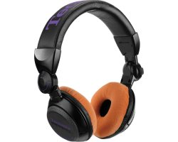 Zomo Earpad Set VELOUR for Technics RP-DJ1200/1210 Tangerine