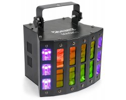 BeamZ Magic1 Derby Strobe, 9x3W RGBAWP+6xUV/W, DMX