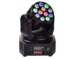 LIGHT4ME Mini Wash 12x4 RGBW LED moving head