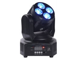 LIGHT4ME Mini Wash 408 - RGBW LED moving head