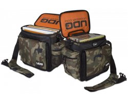 UDG Ultimate SlingBag Trolley Set DeLuxe Black Camo, Orange inside