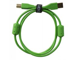 UDG Ultimate Audio Cable USB 2.0 A-B Green Straight 2m