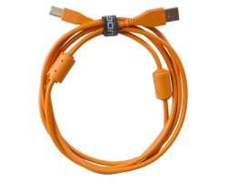 UDG Ultimate Audio Cable USB 2.0 A-B Orange Straight 2m