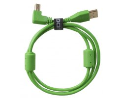 UDG Ultimate Audio Cable USB 2.0 A-B Green Angled 2m