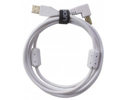 UDG Ultimate Audio Cable USB 2.0 A-B White Angled 1m
