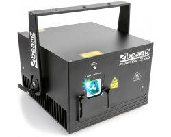 BeamZ Professional Phantom 6000 Pure Diode Laser RGB Analog