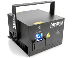 BeamZ Professional Phantom 3500 Pure Diode Laser RGB Analog